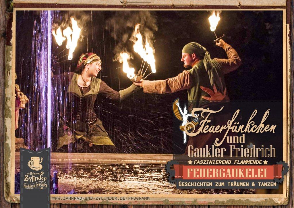 Feuerfünkchen Tina und Gaukler Friedrich